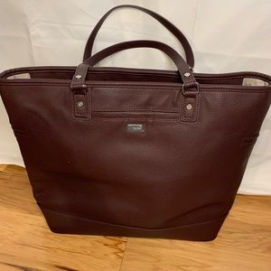 Jewell by Thirty one oversized faux leather tote